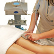 Stock Photo: lpg cellulite treatment