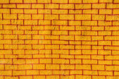 Brick wall graffiti — Stock Photo