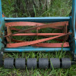 Part of manual lawnmower — Stock Photo #3804564