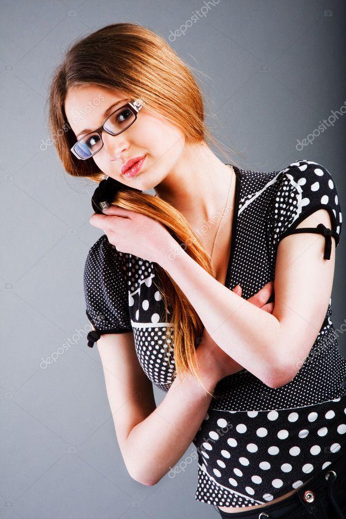 Charming young slim girl stock photo 3199503 - Charming teenage girls image ...