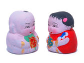 Muñecas mini linda pareja — Foto de Stock