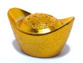 китайский золотой самородок — Стоковое фото