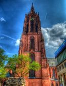 Saint Bartholomeus' Cathedral in frankfurt, germany — Stock Photo