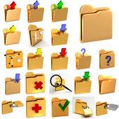 Set of computer icons — Stock Photo