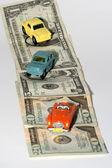 Car on credit — Stock Photo