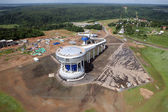 Construction from the sky — Stock Photo