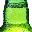Beer bottle abstract isolated — Stock Photo