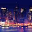 Stock Photo: City lights 1