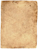 Old tattered textured paper — Stock Photo