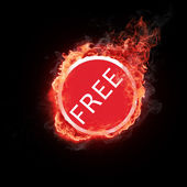 Burning free — Stock Photo