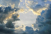 Sky and Clouds — Stock Photo