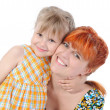 Daughter hugging her mother. — Stock Photo #3282910