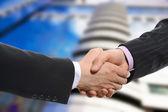 Men handshake — Stock Photo