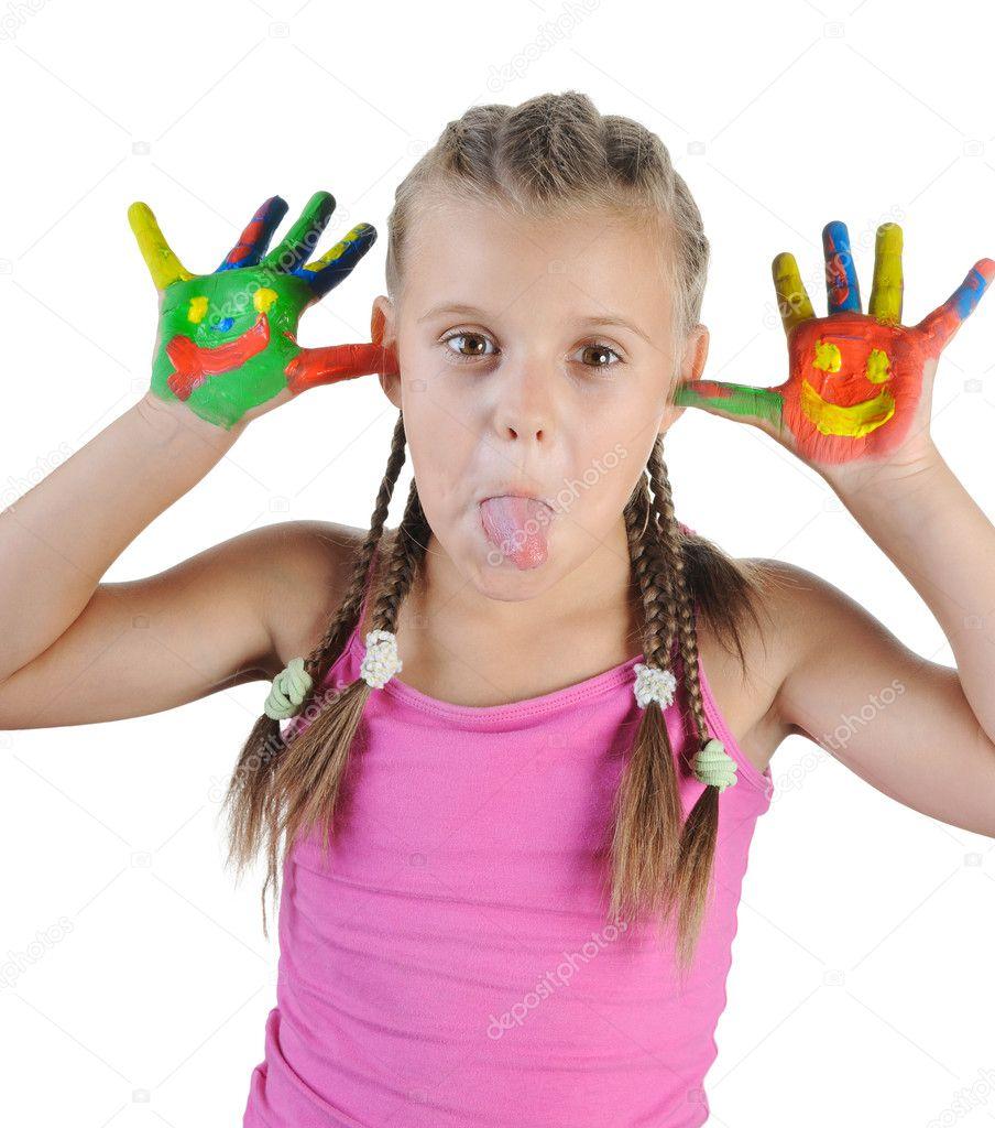 Фото детей с факом
