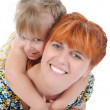 Little girl with her mother. — Stock Photo #3711946