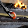 Element in the smithy — Stock Photo