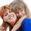 Girl with her mother — Stock Photo #3765290