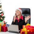 Royalty-Free Stock Photo: Secretary of Santa Claus