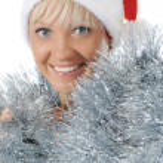 Beautiful christmas girl. — Stock Photo #3887148