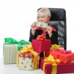 Secretary of Santa Claus — Stock Photo #3887186