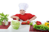 Little chef — Stock Photo
