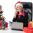 Secretary of Santa Claus — Stock Photo