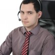 Man with a headset — Stock Photo #4517938