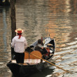 Stock Photo: Venice gondolier.