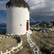 Royalty-Free Stock Photo: Windmill  Mykonos Greece.