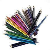 Set of colour pencils — Stock Photo