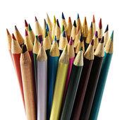 Uppsättning färg pennor — Stockfoto
