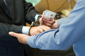 It is arrested at bribe reception — Stockfoto
