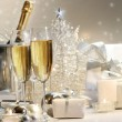 Stockfoto: Champagne glasses