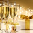 Glasses of champagne — Stockfoto
