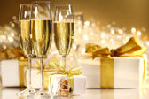 Verres de champagne — Photo