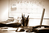 Last day before vacation — Stock Photo