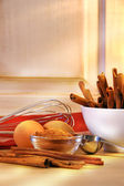 Baking in the kitchen — Stock Photo