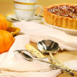 Pecan pie dessert — Stock Photo #3300091