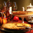 Thanksgiving-desserts — Stockfoto