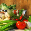 Veggies on counter — Stock Photo #3300149