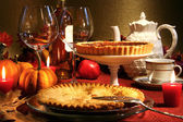 Thanksgiving desserts — ストック写真