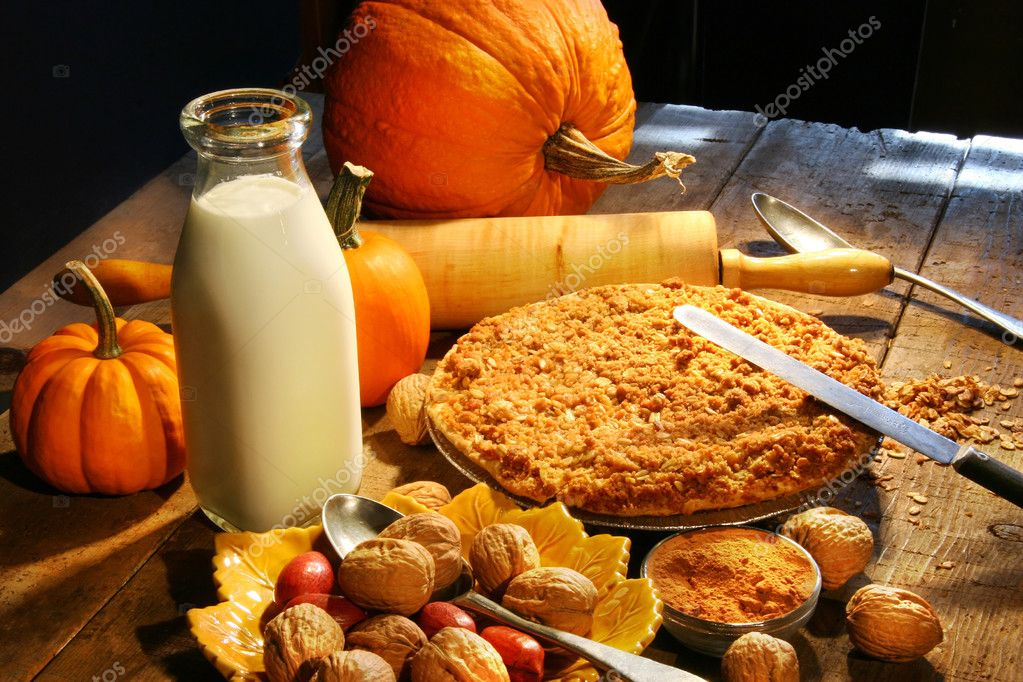 Preparing ingredients for holiday desserts — Stock Photo #3300104