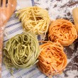 Assortment of different italian pasta — Stock Photo