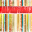 Royalty-Free Stock Photo: Striped holiday background