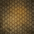 Grungy antique wallpaper - Stock Photo