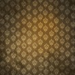 Grungy antique wallpaper — Stock Photo