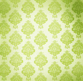 Vintage wallpaper with floral design — Stock Photo