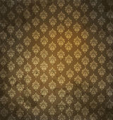Grungy antique wallpaper — Stock Photo