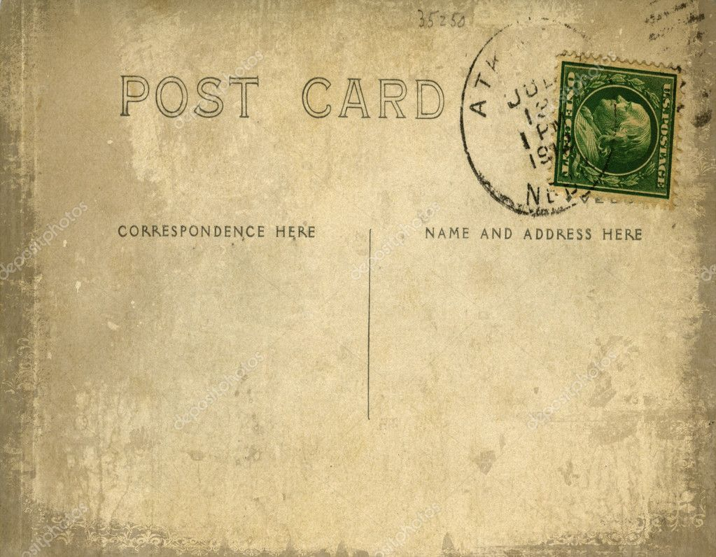 how to make a vintage postcard in photoshop