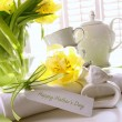 Gift card for mother&#039;s day with flowers - 